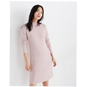 🌸 Madewell Northfield Mockneck Sweater-Dress